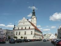Rathaus in Glogowek (Oberglogau)