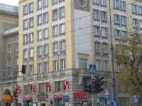 Zegar W-wa, Marszałkowska róg Wilczej