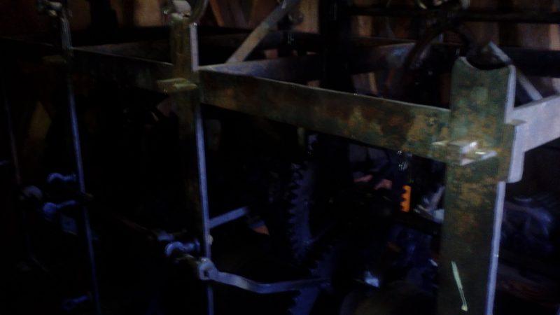 Mechanizm zegara Święta Lipka
