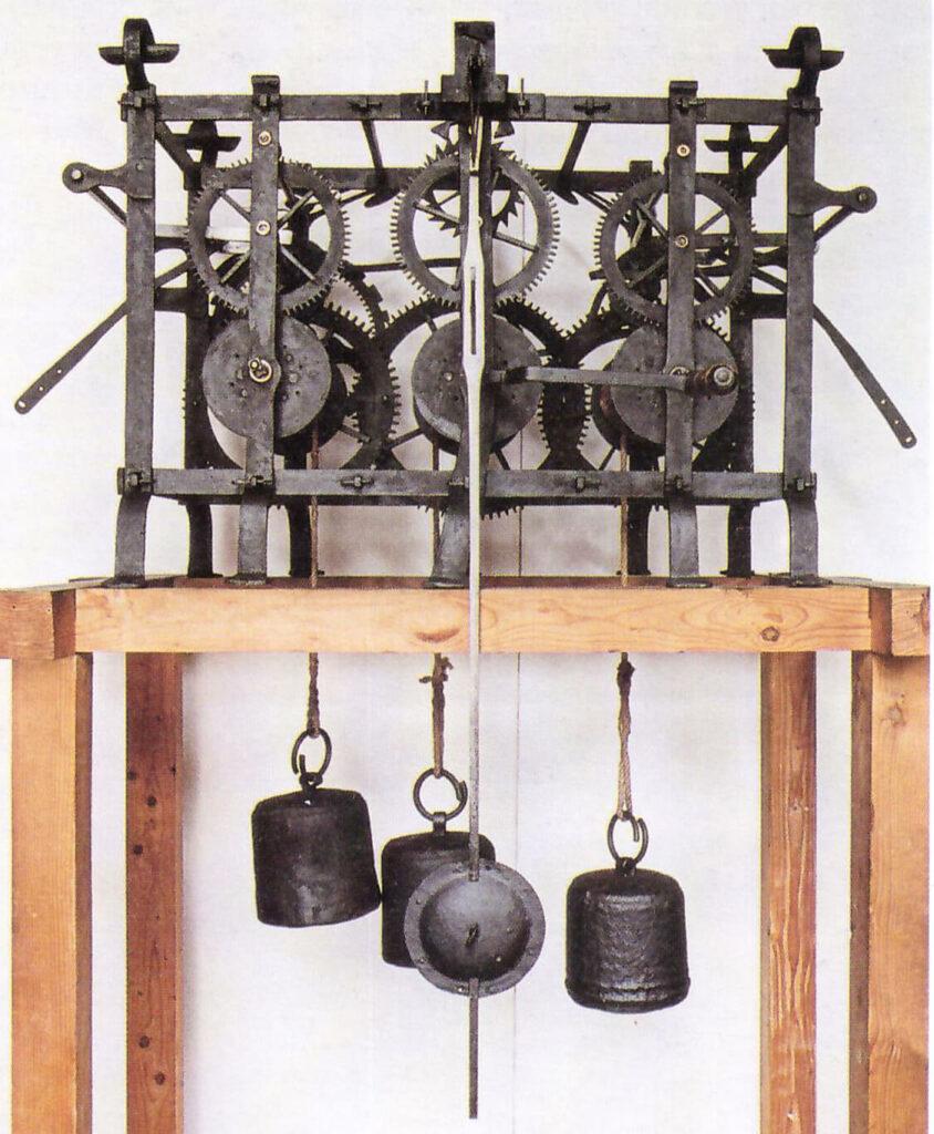 M echanizm zegara w Wilanowie